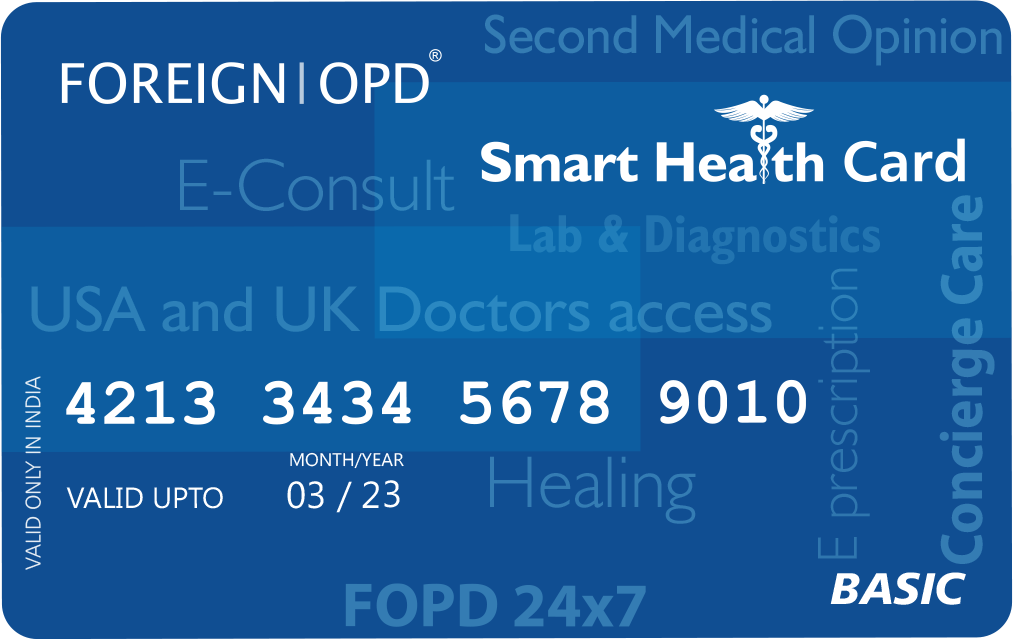 Book Your Basic Medical Health Card Now   Foreign OPD